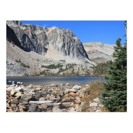 Lake Marie Snowy Range Postcard