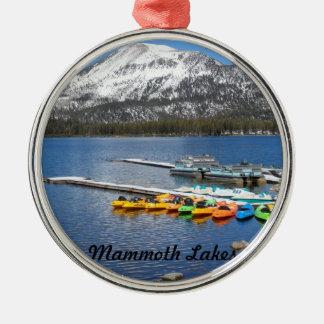 Lake Mary- Mammoth, CA Christmas Ornament