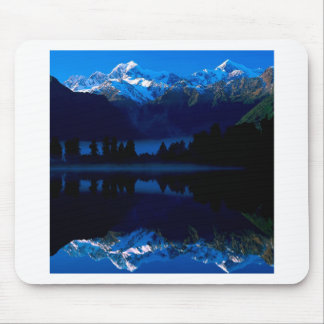 Lake Mason Reflects Tasman Cook New Zealand Mouse Mat