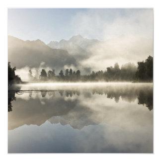 Lake Matheson • Square Card / Invitation
