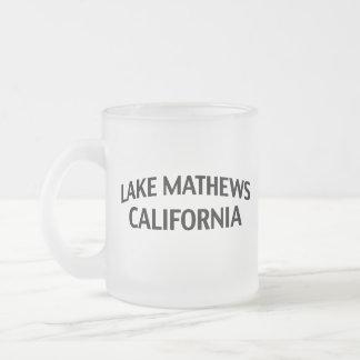 Lake Mathews California Mugs