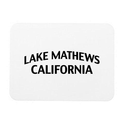 Lake Mathews California Rectangular Magnet