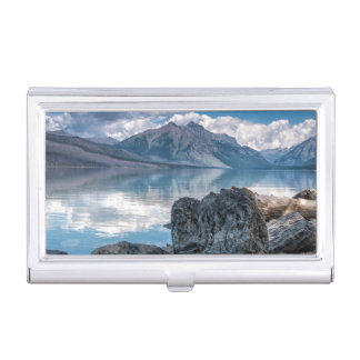 Lake McDonald Business Card Holder