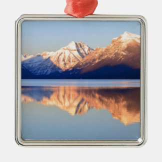 Lake Mcdonald Christmas Ornament
