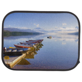 Lake McDonald, Glacier National Park, Montana, Car Mat