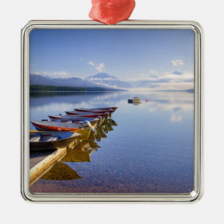 Lake McDonald, Glacier National Park, Montana, Christmas Ornament