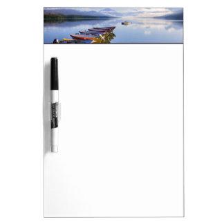 Lake McDonald, Glacier National Park, Montana, Dry Erase Board