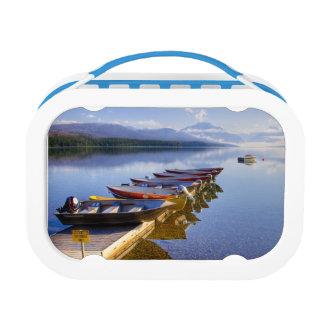 Lake McDonald, Glacier National Park, Montana, Lunch Box