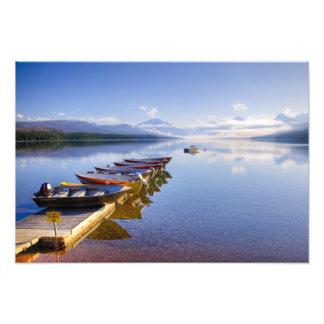 Lake McDonald, Glacier National Park, Montana, Photo Print