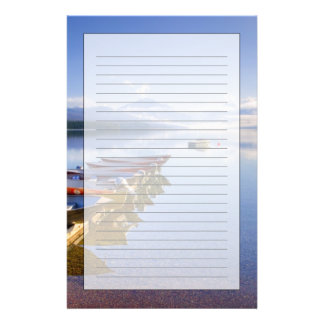 Lake McDonald, Glacier National Park, Montana, Stationery