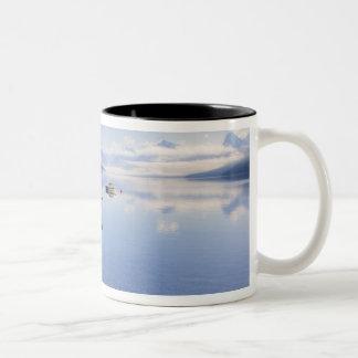 Lake McDonald, Glacier National Park, Montana, Two-Tone Coffee Mug