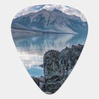 Lake McDonald Guitar Pick