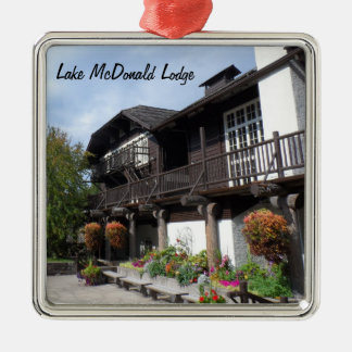 Lake McDonald Lodge- Glacier National Park Christmas Ornament