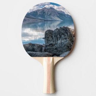 Lake McDonald Ping Pong Paddle