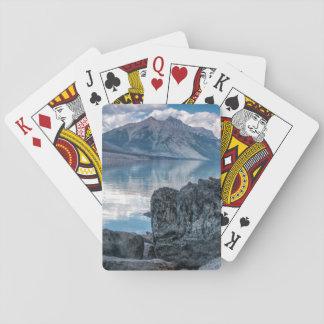 Lake McDonald Playing Cards