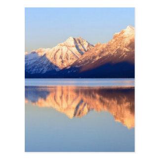 Lake Mcdonald Postcard