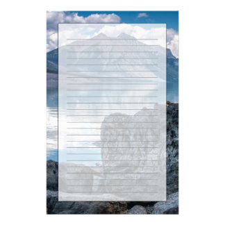 Lake McDonald Stationery
