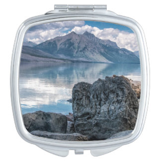 Lake McDonald Vanity Mirror