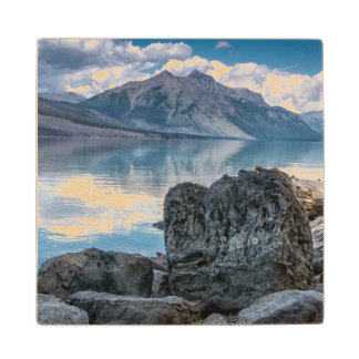 Lake McDonald Wood Coaster