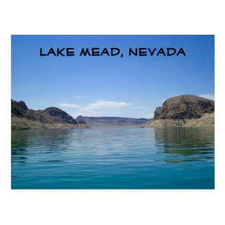 Lake Mead near Las Vegas Nevada Postcard