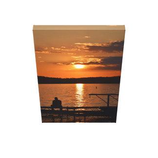 Lake Mendota Sunset Canvas Print