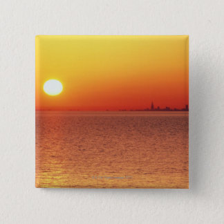 Lake Michigan 15 Cm Square Badge
