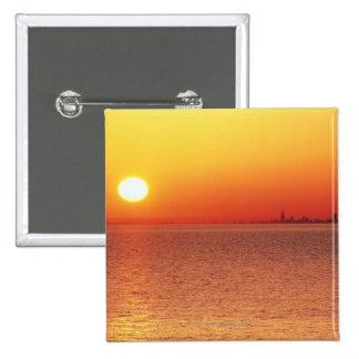 Lake Michigan 15 Cm Square Badge