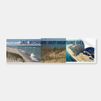 Lake Michigan Bumper Sticker