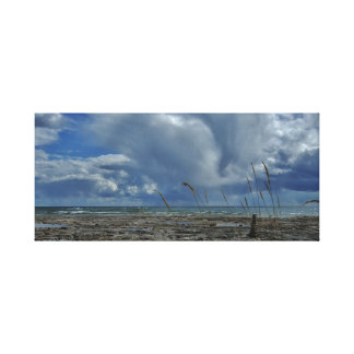 Lake Michigan Clouds Canvas Print