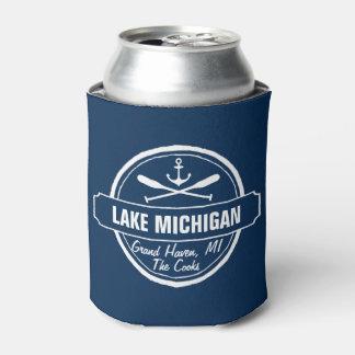 Lake Michigan, custom town, name, anchor, paddles