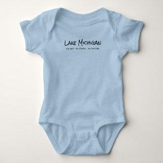 Lake Michigan - humor Baby Bodysuit