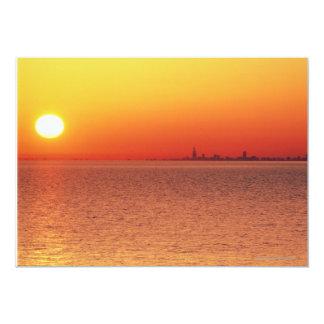 "Lake Michigan 5"" X 7"" Invitation Card"