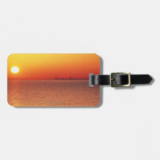 Lake Michigan Luggage Tag