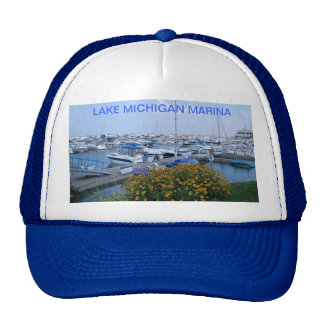 LAKE MICHIGAN MARINA HAT