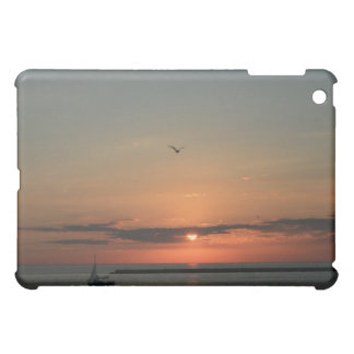 Lake Michigan Sunrise iPad Mini Covers
