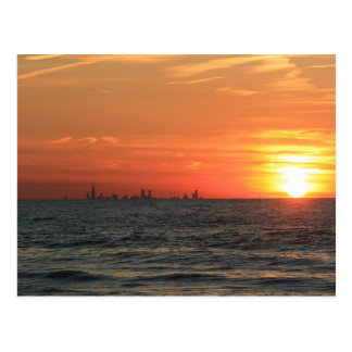 Lake Michigan Sunset 1 Postcard
