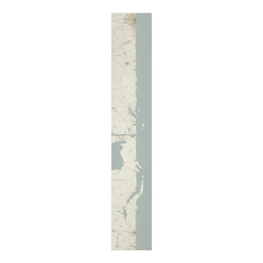Lake Michigan Unfurled, Vertical, 60 x 10 Poster