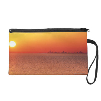 Lake Michigan Wristlet