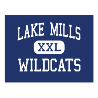 Lake Mills Wildcats Middle Lake Mills Postcard