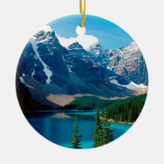 Lake Moraine Park Canada Christmas Ornament