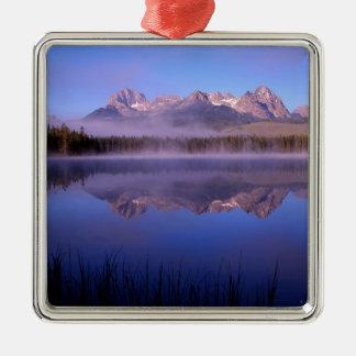 Lake Morning At Little Redfish Idaho Christmas Ornament