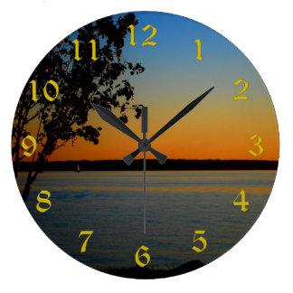 Lake Murray Large Round Wall Clock