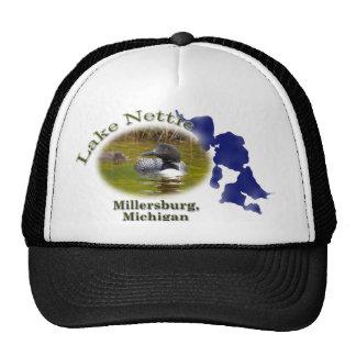 Lake Nettie, Michigan cap Trucker Hat