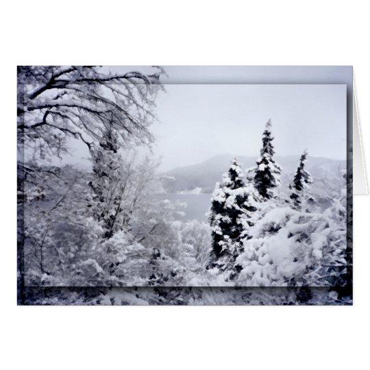 Lake Nojiri Christmas Card
