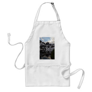 Lake of Crags reflection Grand Teton National Park Standard Apron