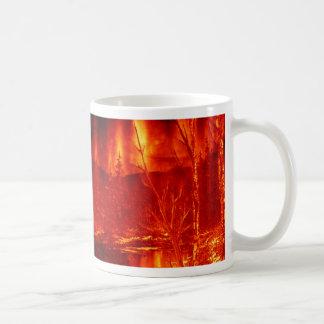 Lake of Fire2 Basic White Mug