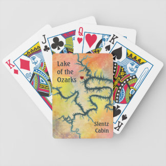 Lake of the Ozarks Missouri Bicycle Playing Cards