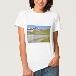 Lake of Tignes in France T-shirt