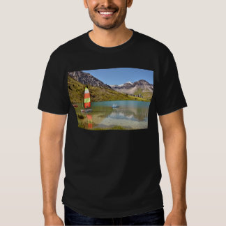 Lake of Tignes in France T-shirts