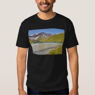 Lake of Tignes in France Tshirts